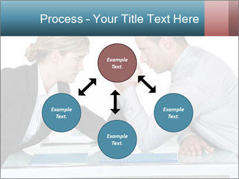 Competition Between Businesspeople PowerPoint Template - Slide 91