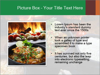 Food And Fire PowerPoint Templates - Slide 13