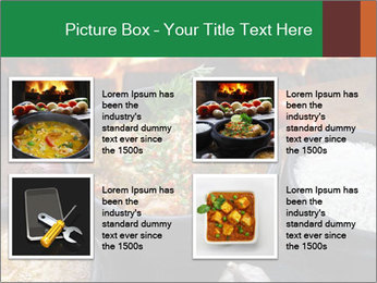 Food And Fire PowerPoint Templates - Slide 14