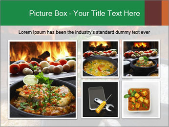 Food And Fire PowerPoint Templates - Slide 19