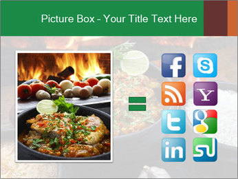 Food And Fire PowerPoint Templates - Slide 21