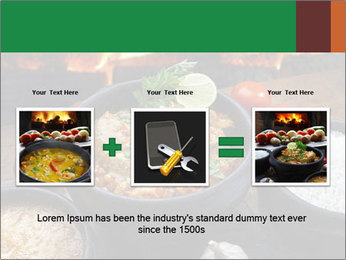 Food And Fire PowerPoint Templates - Slide 22