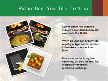 Food And Fire PowerPoint Templates - Slide 23