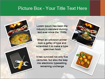 Food And Fire PowerPoint Templates - Slide 24