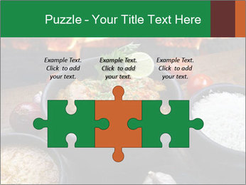Food And Fire PowerPoint Templates - Slide 42