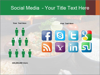 Food And Fire PowerPoint Templates - Slide 5