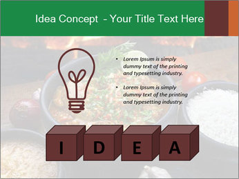 Food And Fire PowerPoint Templates - Slide 80