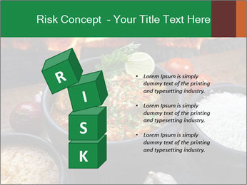 Food And Fire PowerPoint Templates - Slide 81
