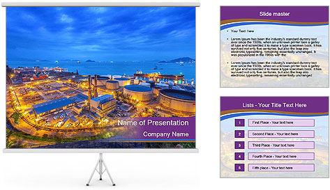 Cemistry Industry PowerPoint Template