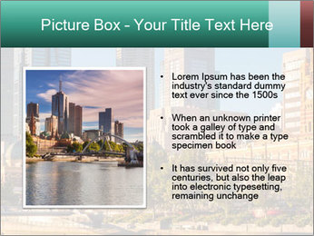 Melbourne City PowerPoint Template - Slide 13