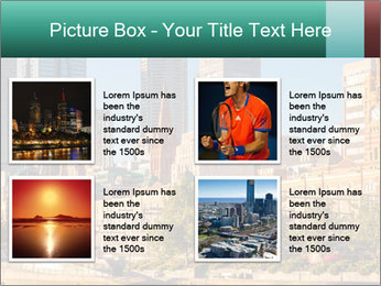 Melbourne City PowerPoint Template - Slide 14