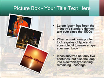 Melbourne City PowerPoint Template - Slide 17