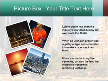 Melbourne City PowerPoint Template - Slide 23