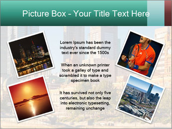 Melbourne City PowerPoint Template - Slide 24
