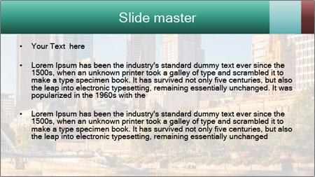 Melbourne City PowerPoint Template - Slide 2