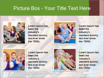 Gym For Cenior People PowerPoint Template - Slide 14