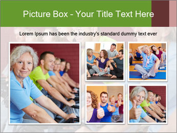 Gym For Cenior People PowerPoint Templates - Slide 19