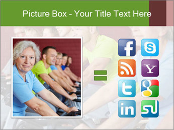 Gym For Cenior People PowerPoint Template - Slide 21