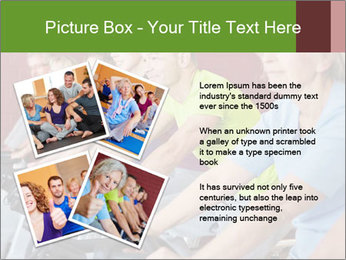 Gym For Cenior People PowerPoint Templates - Slide 23