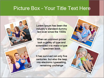 Gym For Cenior People PowerPoint Templates - Slide 24