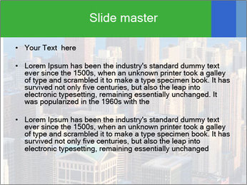 American Skyscrapers PowerPoint Template - Slide 2