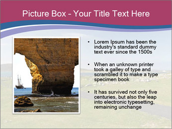 Seaside Landscape PowerPoint Template - Slide 13