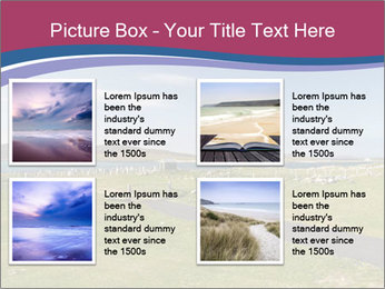 Seaside Landscape PowerPoint Template - Slide 14