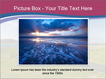 Seaside Landscape PowerPoint Template - Slide 15