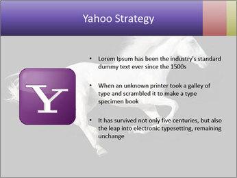 White Running Horse PowerPoint Templates - Slide 11