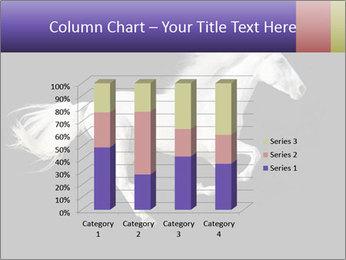 White Running Horse PowerPoint Templates - Slide 50