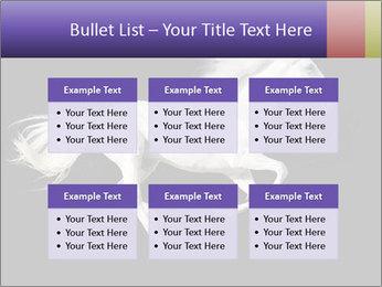 White Running Horse PowerPoint Templates - Slide 56