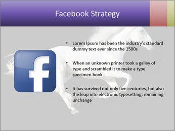 White Running Horse PowerPoint Templates - Slide 6