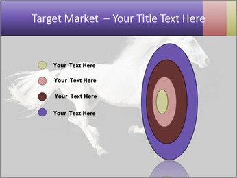 White Running Horse PowerPoint Templates - Slide 84