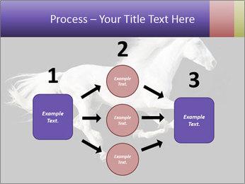 White Running Horse PowerPoint Templates - Slide 92