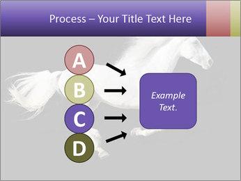 White Running Horse PowerPoint Templates - Slide 94