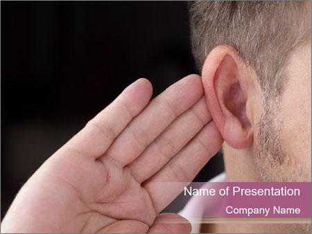 Secret Gossip PowerPoint Templates