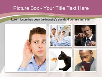 Secret Gossip PowerPoint Template - Slide 19