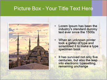 Blue Mosque Istanbul PowerPoint Templates - Slide 13