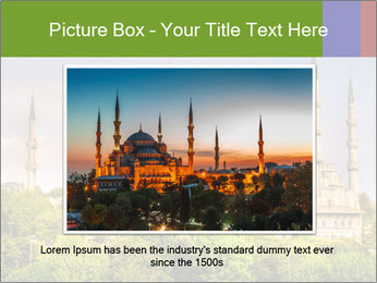 Blue Mosque Istanbul PowerPoint Templates - Slide 16