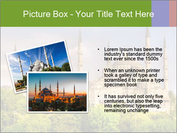 Blue Mosque Istanbul PowerPoint Templates - Slide 20