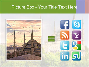 Blue Mosque Istanbul PowerPoint Templates - Slide 21