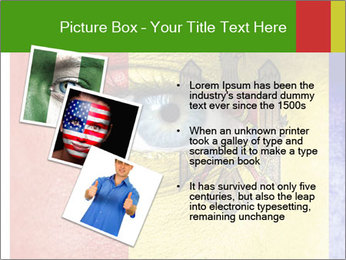 Patriotic Body Art PowerPoint Template - Slide 17