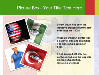 Patriotic Body Art PowerPoint Template - Slide 23
