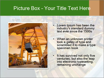 Containers For Shipping PowerPoint Template - Slide 13