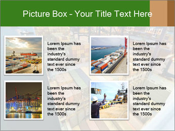Containers For Shipping PowerPoint Template - Slide 14