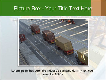 Containers For Shipping PowerPoint Template - Slide 15