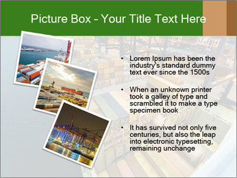 Containers For Shipping PowerPoint Template - Slide 17