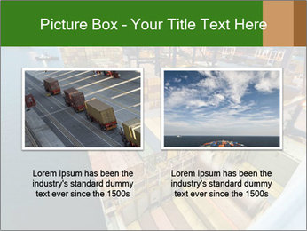 Containers For Shipping PowerPoint Template - Slide 18
