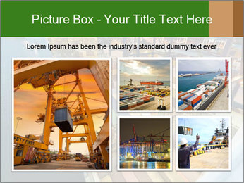 Containers For Shipping PowerPoint Template - Slide 19