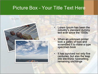 Containers For Shipping PowerPoint Template - Slide 20